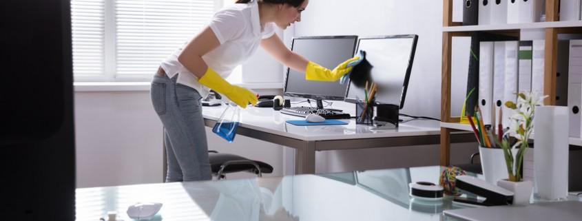 Propreté et productivité font bon ménage au bureau